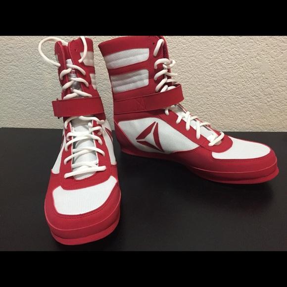 New Reebok Boxing Boots Shoes Mens Sz 3